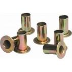 100 rivets 8mm pour garnitures de frein à tambour