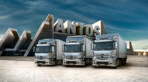 Poids lourds Mercedes : la gamme Antos
