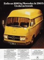 Le camion Mercedes L206D