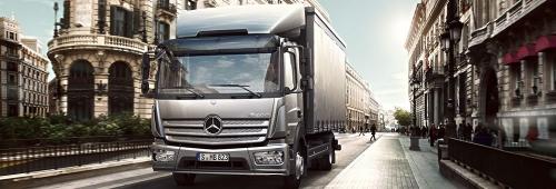 Poids lourds Mercedes : zoom sur la gamme Atego